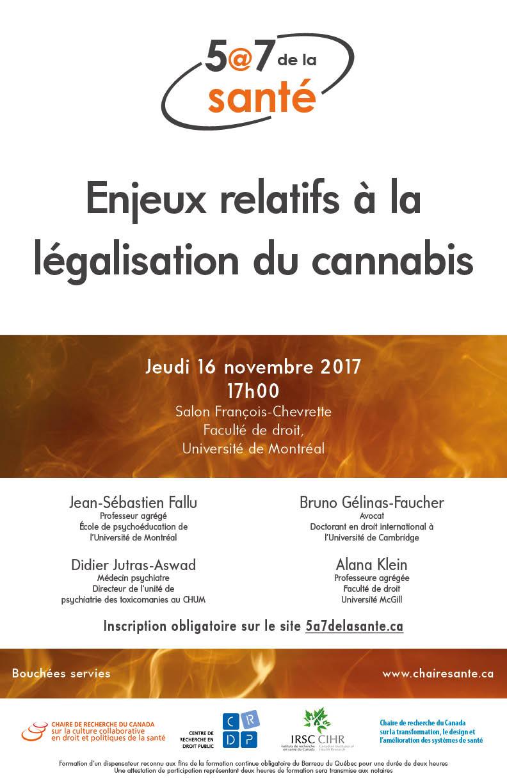 Enjeux relatifs la l galisation du cannabis centre de for Salon du cannabis 2017